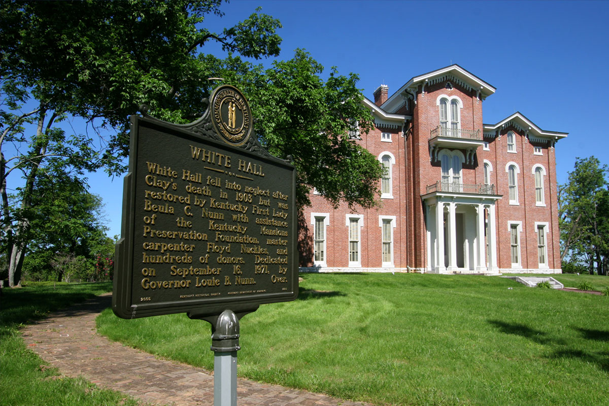 White Hall State Historic Site in Richmond, KY