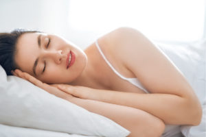 sleeping women blog