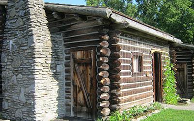 Fort Boonesborough State Park cabin