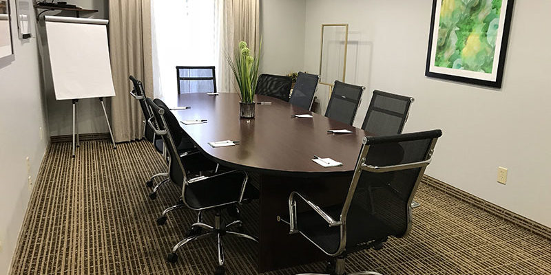 10 person conference room at Quality Inn Richmond